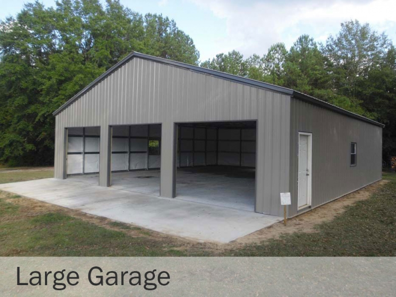 Large Garages Mcguire S Buildings